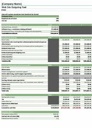 sample business budgets budgets office com