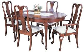 queen anne dining room table. bunker hill leg table is a solid amish built selfstoring featuring 1u201d inch top with beveled edge rope trim on apron self stores up to four queen anne dining room
