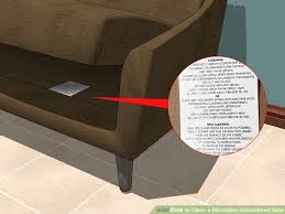 image titled clean a microfiber upholstered sofa step 1
