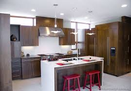 Beautiful Modern Wood Kitchen Cabinets Dark A Throughout Models Ideas