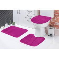 Encontre diversos produtos da marca doitool com ótimos preços. Jogo De Banheiro Emborrachado Padrao Pelucia 3 Pecas Pink Tapete Para Banheiro Casas Bahia 17841687