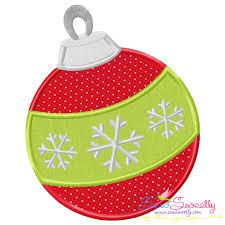 How To Digitize Applique Designs Christmas Applique Design Christmas Ball Ornament