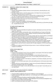 Sample Director Of Operations Resume Operations Director Resume Samples Velvet Jobs 54