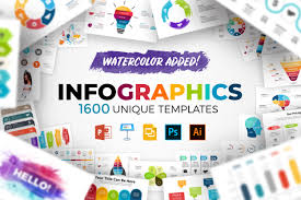 Display Your Designs In A Diverse Way With These Infographic Templates