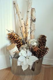 Rustic Christmas Ornaments 10 Winter Home Decorating Ideas Pinecone Christmas Ornament And