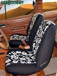 jeep grand wagoneer pattern seat covers