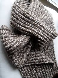Simple Scarf Knitting Patterns Extraordinary Popular Mens Scarf Knitting Patterns Simple Simple Mock Brioche Cowl