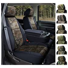 seat covers traditional military camo