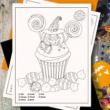 Halloween color by number math worksheets mixing education with fun indulge in the spook factor associated with it by coloring the below worksheets by number. Spooktacular Halloween Activity Cutest Color By Number Printables