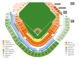 Detroit Tiger Stadium Seating Chart With Rows 37 Actual Comerica Park Seating