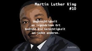 Martin Luther King Die 10 Besten Zitate Youtube