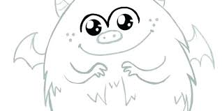Coloring Pages Of Cute Monsters Monster Energy Coloring Pages Cute