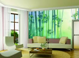 Living Room Painting Living Room Fresh Green Bamboo Living Room Wall Murals With