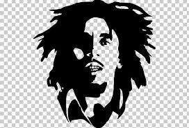 Silhouette Rasta Wall Decal Poster Stencil Png Clipart