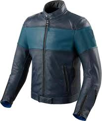 revit nova vintage motorcycle leather jacket