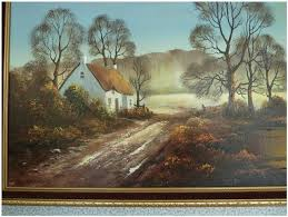 A STUNNING ORIGINAL WENDY REEVES OIL PAINTING ON CANVAS For Sale in  Guildford, Surrey   Preloved