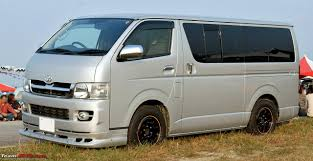 The Godfather of all People Carriers - Toyota Hiace (tourister ...