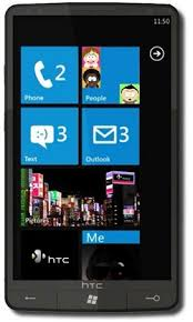 htc windows phone. htc hd7 htc windows phone