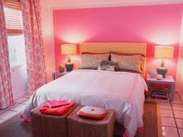 Small Pink Bedroom Bedroom Small Pink Bedroom With White Comfort Bed And Brown
