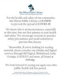 Ida Hilton Library - Photos | Facebook