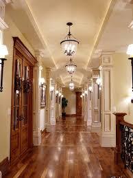 long hallway light placement hallway