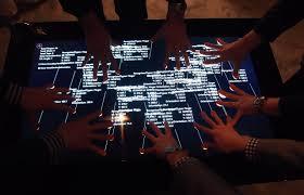 Micrsoft Table A Close Look At Samsung And Microsofts Surface 2 0 Aka Sur40