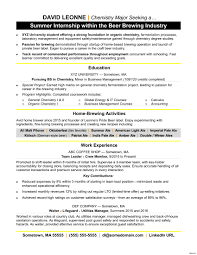 Bunch Ideas Of Modern Internship Sample Resume Singapore Objective