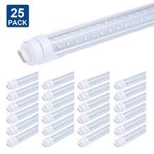 Great Value T8 T12 Led Light Bulbs T8 T10 T12 8ft Led Tube Light Bulbs R17d Ho Base V Shaped Led Tube Replacement