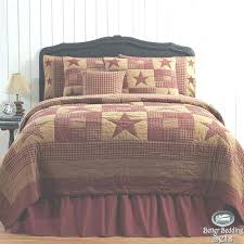 king size country quilts bedroom rustic western star twin queen cal king quilt bedding set in