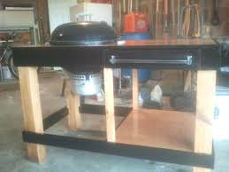 weber grill station grill table kettle grill station by woodworking weber grill sear station weber grill weber grill