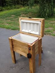 1000 ideas about wooden ice chest on diy cooler photo details from these photo