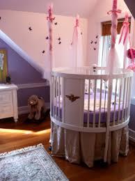 Circular Crib Bedding Girl Round Crib Creative Ideas Of Baby Cribs