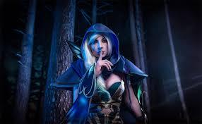 dota 2 drow ranger cosplay keep silence by amio mio on deviantart