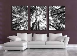 black white canvas wall art