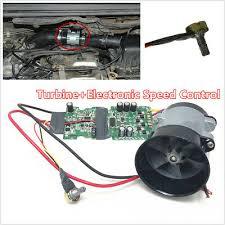 <b>Car 35000RPM Electric</b> Supercharger Turbo Air Boost Fan w/ ESC ...