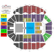 Crown Center Of Cumberland County Seating Chart Shinedown With Papa Roach Asking Alexandria Crown Complex