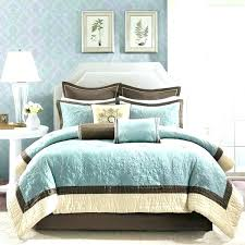 aqua blue comforters brown comforter chocolate bedding sets aqua blue and park pertaining to queen