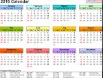 calendar mai iunie 2016