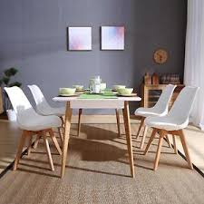 image is loading set of 4 dining chair retro dining room