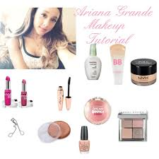 ok so here it is with prducts steps 1 youre going to ariana grande makeup bag