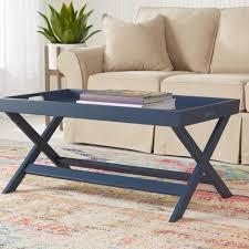 stylewell rectangular steel blue wood