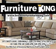 carbondale times keep up with the times in furniture king carbondale il