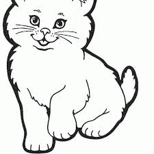 Small Picture Cute Cat Coloring Pages Coloring Pages Kids