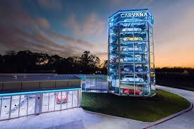 Car Vending Machine Texas Interesting Carvana Launches Automated Car Vending Machine In Texas Houston