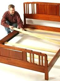 wood slat bed frame queen – rxdeals