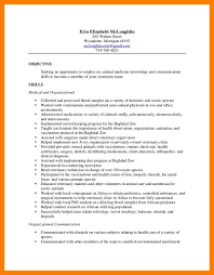 Veterinarian Resume 100 vet assistant resume mla cover page 46