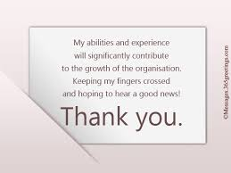Thank For Interview Thank You Notes After Interview 365greetings Com