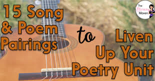 See more ideas about poetry for kids, preschool music, activities. 15 Poem And Song Pairings To Liven Up Your Poetry Unit The Tpt Blog