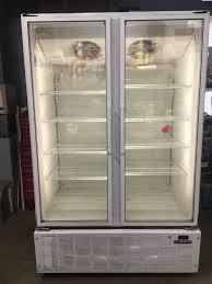 2 door door glass door display freezer
