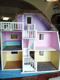 wooden barbie dollhouse furniture. 3 Story Custom Made Wood Barbie Doll House Wooden Dream Dollhouse - New \u0026 Sturdy Furniture W